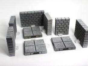 OpenLOCK Cut-Stone Walls