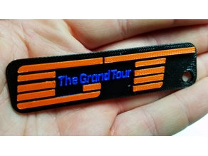 The Grand Tour Keychain