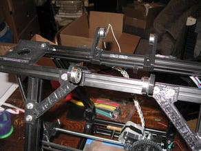 Prototype spool mounts for MendelMax