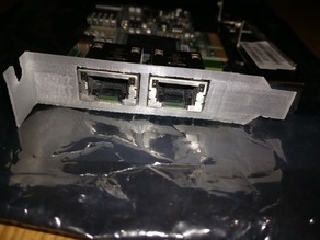 Low Profile Dual Ethernet