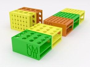 Modular Laboratory Rack Blocks