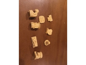 Teotihuacan upgrade pieces