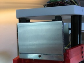 MIWI Power Supply Mount For Kossel Printer - 100 Watt