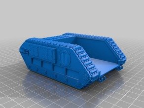 28mm Zerber tank chassis