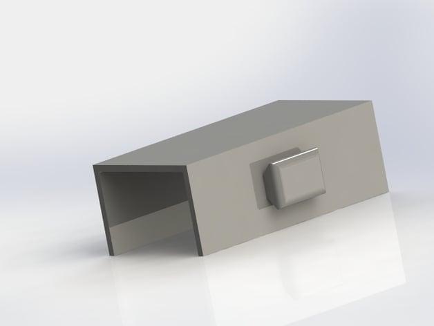 Bifold Door Lock by avongil - Thingiverse