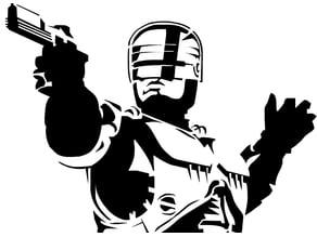Robo Cop Stencil