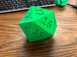 20 Sided Dice of Holding