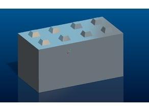 Concrete Block stackable - 1:14