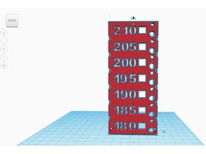 Temperature Tower 180-210
