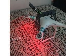 DJI Phantom 3 Handle with GoPro Mount V2