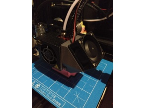 Creality CR-10/Ender 3 Part Cooling Fan (40mm fan mount) - remix