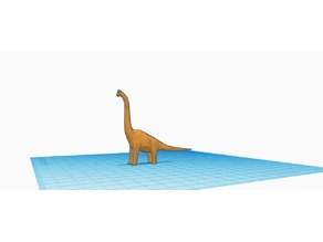Low Polly Brachiosaurus