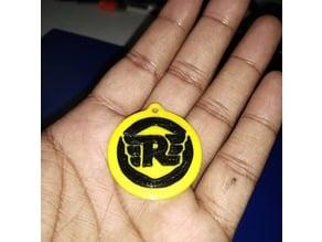 Royal Enfield Logo key chain