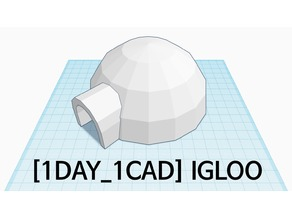 [1DAY_1CAD] IGLOO