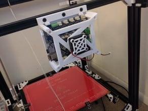 Duet WiFi case for D-Bot (v-slot mount)