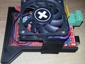 Kossel Ramps Bracket Remix SparkCube with 60mm Fan Mount
