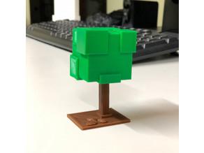 Save the planet - 3D print a fake tree | Customized Alternative to Allergy Pills | Simple with SelfCAD
