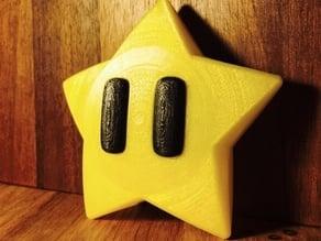 Mario Star decorations