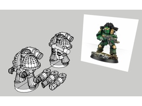 Epic Scale Astartes mkIII Proxy - low poly