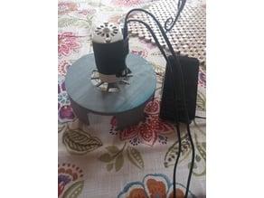 Stuka Siren for sewing machine motor