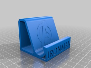 IRONMAN AVENGERS MOBILE PHONE STAND