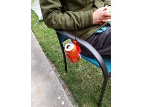 Zip Tie Cup Holder