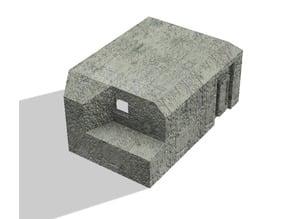 1/72 Casemate type B (Flankeerende beton kazemat type B) Dutch bunker