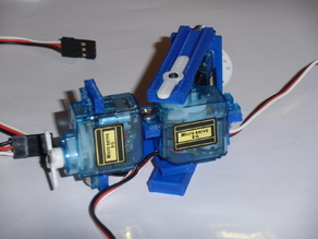 9g servo motor holders