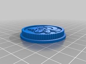 Blue Wolf Ninjetti Ranger Power coin(Legacy)