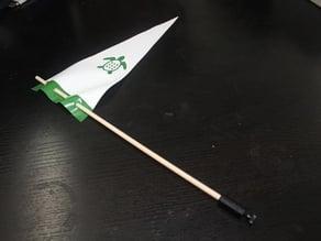 Flag Mount for TurtleBot