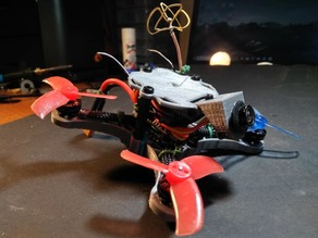 "X-110: Modular Micro Brushless 2"" Quadcopter Drone Frame Kit"