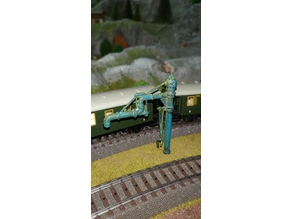 Water Crane H0,N,Z for steam trains
