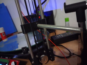 Parametric delta minimal spool holder using rod