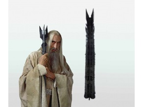 Tower of Orthanc - Saruman's Tower (From Lord of The Rings)