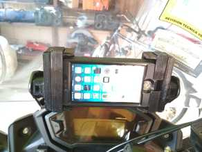 Honda CB500X iPhone mount V.2