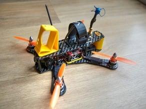 GoPro minimal mount for FPV quadcopter #CBQ190 universal 20deg - 30deg - Drone