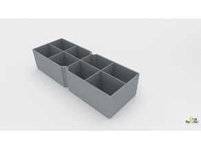Akro-Mils Small Drawer Divider - 8 Sections