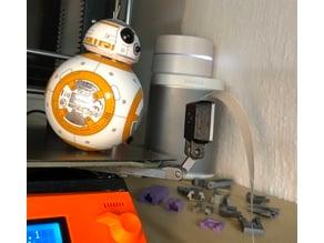 Prusa MK3 Bed Camera Mount (snap on) for Pi Camera V2