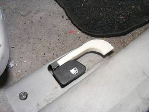 Hyundai Accent 2007 boot release lever