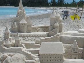 castle sand tools
