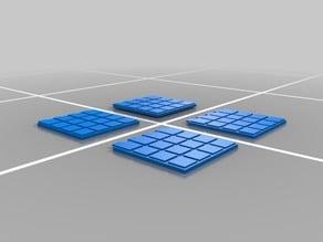 Simple Mini Chess Board