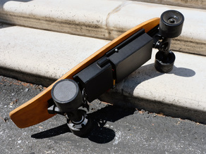 Electric Penny Board - Mounting Cases