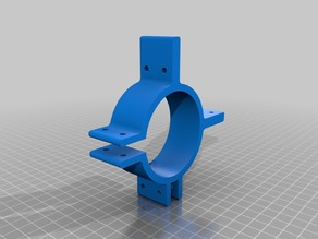 """Jig-clip Stand for 2"""" ABS pipe"""