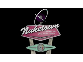 Call Of Duty Nuketown Monument