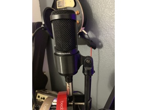 Condenser Mic Holder (Audio Technica AT2020) or similar