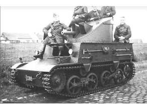 Belgian T13B3 Tank Destroyer 28mm