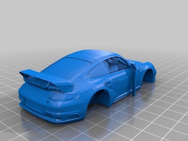 Porsche 911 Turbo By Kidlatj Thingiverse
