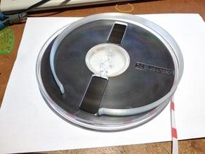 """7in (18cm) 1/4"""" tape reel protection clip"""
