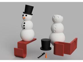Snowman Stocking Hook