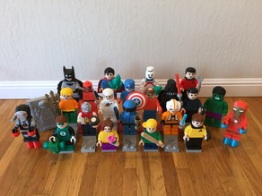 Giant Lego Minifig Collection (remixed)
